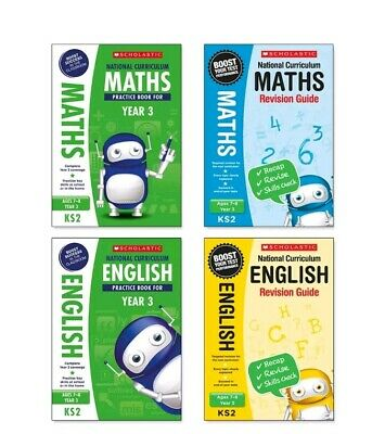 Scholastic Year 3 SATs Revision English & Maths Book Pack (RRP £27.96)