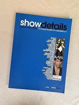 SHOW DETAILS n.2 Magazine Men Collections SS 2008 Pag.288 Sfilate Moda Fashion