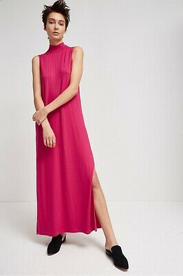 09ee1303c01c French Connection Syros Jersey High Neck Maxi Dress size 10 brand new