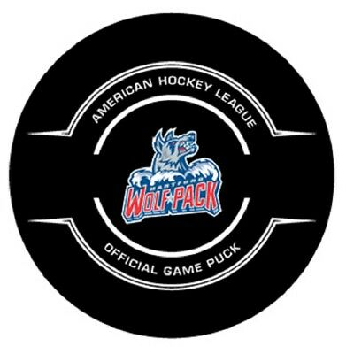 Friendly Ahl Worcester Icecats 10th Anniversary Official Game Hockey Puck Collect Pucks Fan Apparel & Souvenirs