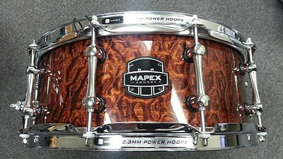 Mapex Armory Dillinger ARML4550KCWT 5.5x14 Maple Snare Drum