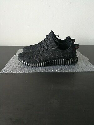 size 40 a3ffd efd68 MEN'S ADIDAS YEEZY Boost 350 Pirate Black Size 11 AQ2659
