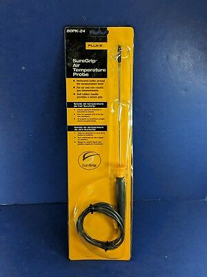 New Fluke 80PK-24 SureGrip Air Temperature Probe, See Details
