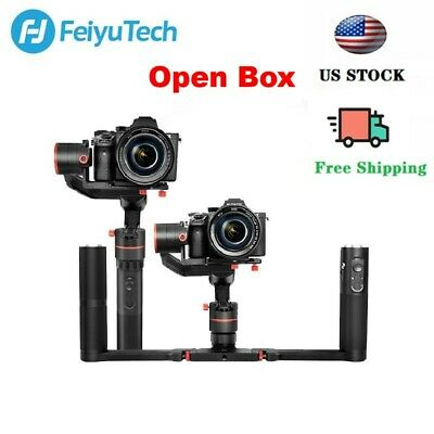 Used Feiyu A1000 Kit 3-Axis Gimbal Handheld Stabilizer DSLR/Mirrorless Camera