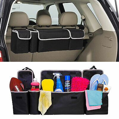 High Capacity Multi-use Car Seat Back Organizers Bag For Interior Accessories