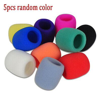 5Color Microphone Windscreen Foam Mic Cover DJ Karaoke Sponge Filter Wind Shield