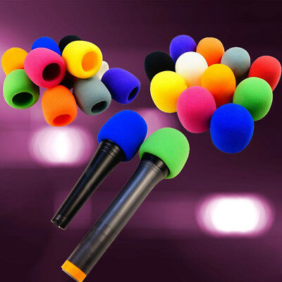 Microphone Windscreen Mic Foam Cover Karaoke DJ Sponge Filter Wind Shield 5Color