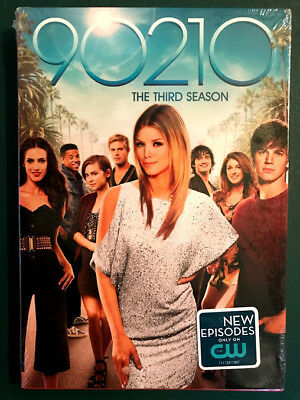 90210, Season Three, SEALED, 6 DVDs, FREE SHIPPING, Ohio seller, 2010, with case