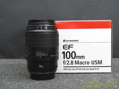 Canon EF100mm F2.8 Macro USM Standard Middle Telephoto Single Focus Lens