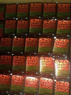 McDonald's Rare Rick And Morty Szechuan Sauce 50 packets