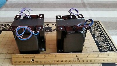 SE Parafeed,tube output transformers,a pair, with solid silver secondary/s