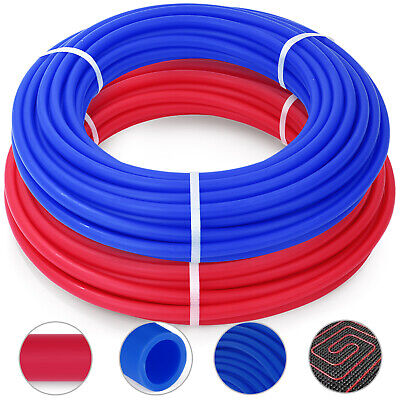 PEX Pipe 2 Rolls 100ft O2 EVOH PEX Tubing For Water Plumbing Applications System