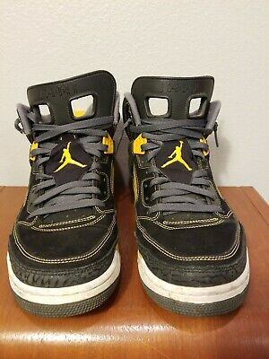 sale retailer bb165 21edf NIKE Air Jordan Spizike V 5 Spike Lee Mars Black Gold 315371-030 Sneakers