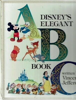 Disney's Elegant ABC Book by Jefferds Vincent - Book - Pictorial Hard Cover