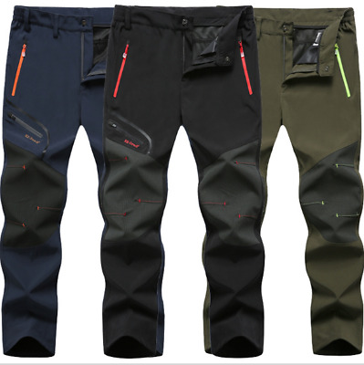 Men Summer Outdoor Thin Trousers Waterproof Windproof Quick-drying Hiking Pants