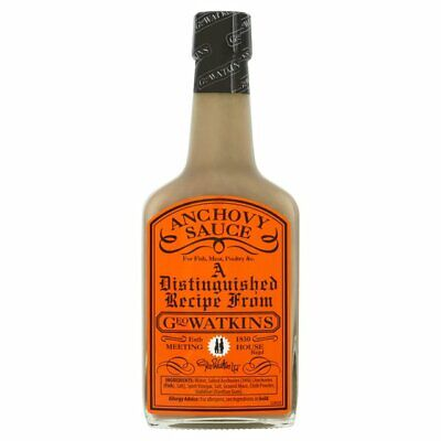 Geo Watkins Anchovy Sauce from UK 190ml for Fish, Meat, Poultry &c