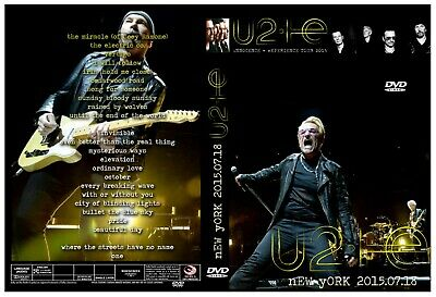 U2. 2015. Live In New York. Msg.  Innocence + Experience Tour. Dvd.