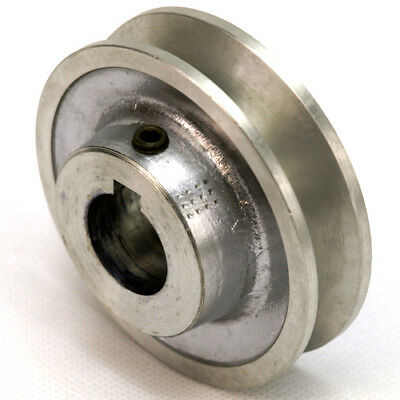 "Aluminium V Pulley 1 Groove A / SPA Section 2"" - 4"" Vee Pulley for V Belt"