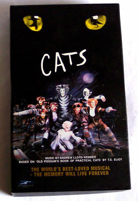 CATS THE MUSICAL , VHS PAL video , Andrew Webber , c116 mins
