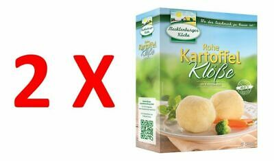 2X Raw Potato Dumplings in Cooking Bag 200g, Mecklenburger Kuche