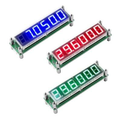 PLJ-6LED-H LED Display Digital Signal Frequency Meter Counter 1MHz ~ 1000MHz IDM