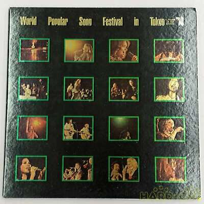 WORLD POPULAR SONG Festival In Tokyo 75 Double Vinyl Lp