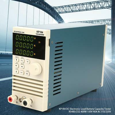 KP184 40A DC Electronic Load Battery Capacity Tester MODBUS RS485/232 400W 150V