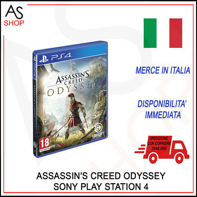 Videogames Ubisoft Assassin's Creed Odyssey Italiano Per Console Sony Ps4 Nuovo