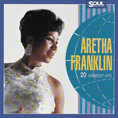 ARETHA FRANKLIN 20 GREATEST HITS CD (Very Best Of)