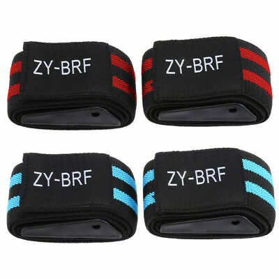 2x Blood Flow Restriction Occlusion Training Bands BFR Fitness Arm Strap 2 Color