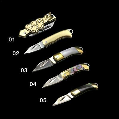 1pc Tactical Survival Folding Blade Knife Pocket Camping Hunting Outdoor Knives