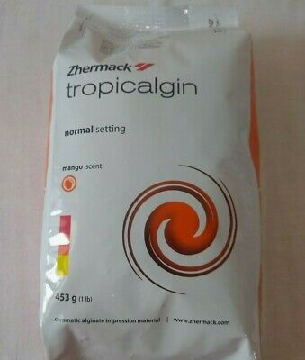 Dental Tropicalgin Alginate Impression Material 453 gm. Zhermack