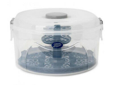 BOOTS Baby 2-in-1 Combination Steriliser Cold Water Microwave BPA-free (NEW)