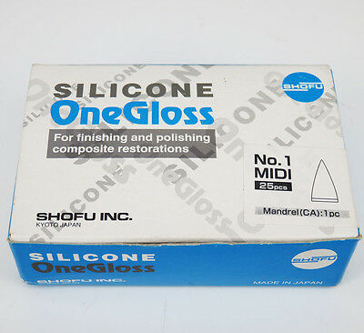 Shofu silicone one gloss 0171 polishing finishing composite restorations