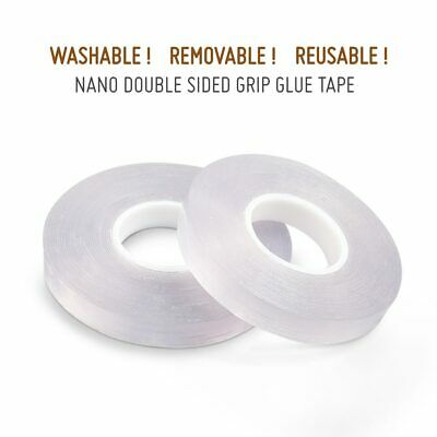 Household Nano Double Sided No-Trace Grip Glue Tape.Washable,Removable,Reusable!