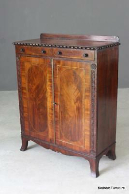 Antique Late 18th Century Mahogany Side Cabinet Sideboard Cupboard