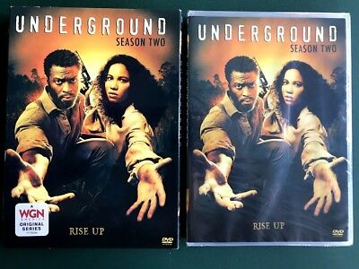 Underground, Season Two, 3 DVDs, SEALED, SLIPCOVER, FREE SHIPPING, Ohio seller