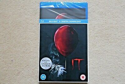 Blu-Ray Stephen King`s It ( 2017 Remake )   Brand New Sealed Uk Stock