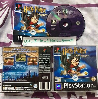 Harry Potter and the Philosopher's Stone PS1 (COMPLETE) black label Playstation