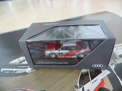 Audi 80 Competition DTM Prototyp 1993 1/43 Museumsedition