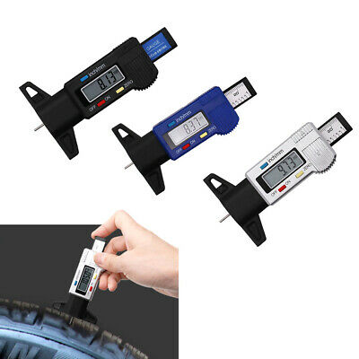 Tester Accurate Tire Digital Caliper Tread Depth Gauge Truck LCD Display Car