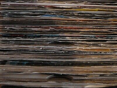 "7"" / 45rpm singles *choose 1 or more from list* Pop/Rock/Indie/Soul. Cleaned."
