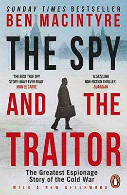 The Spy and the Traitor: Ben MacIntyre Paperback Book Bestseller 9780241972137