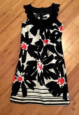 14c7be372925 Black White & Coral Dress by B. DARLIN from Dillards size 5/6.