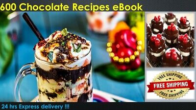 600   Chocolate   Recipes   eBook PDF MASTER RESELL RIGHTS