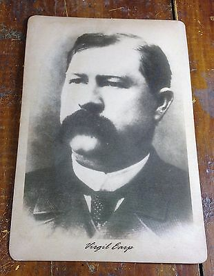 Virgil Earp Old West Tombstone AZ Arizona Cochise County Police Photo Photograph