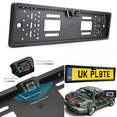 Wireless Car Reversing Camera Backup Cam Rear View Kit 170° for TFT LCD Monitor