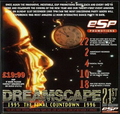 Dreamscape 21 - The Final Countdown (Cd Collection) New Years Eve 1995