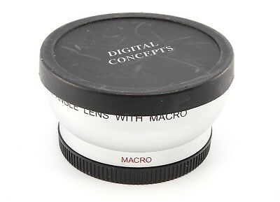 Digital Concepts High Definition LENS 0.5X Wide Angle Lens With Macro