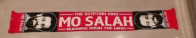 Mo Salah Liverpool Player Woolen Scarf - Egyptian King - Great Gift Idea
